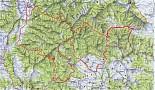 Vojenský obvod Javorina-pešia turistika a cyklotrasy